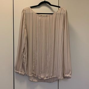 Loft Striped Blouse-XL